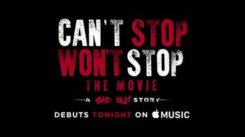 Apple Music TV Spot, 'Can't Stop, Won't Stop: A Bad Boy Story: Savage' - Thumbnail 5