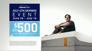 Tempur-Pedic July 4th Savings Event TV Spot, 'Breeze' - Thumbnail 8