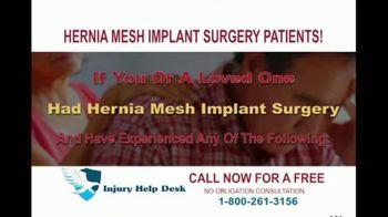 Injury Help Desk TV Spot, 'Hernia Mesh Implant Surgery' - Thumbnail 2