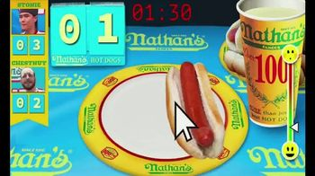 Nathan's Famous Rewards TV Spot, 'Experience the Fun' - Thumbnail 4
