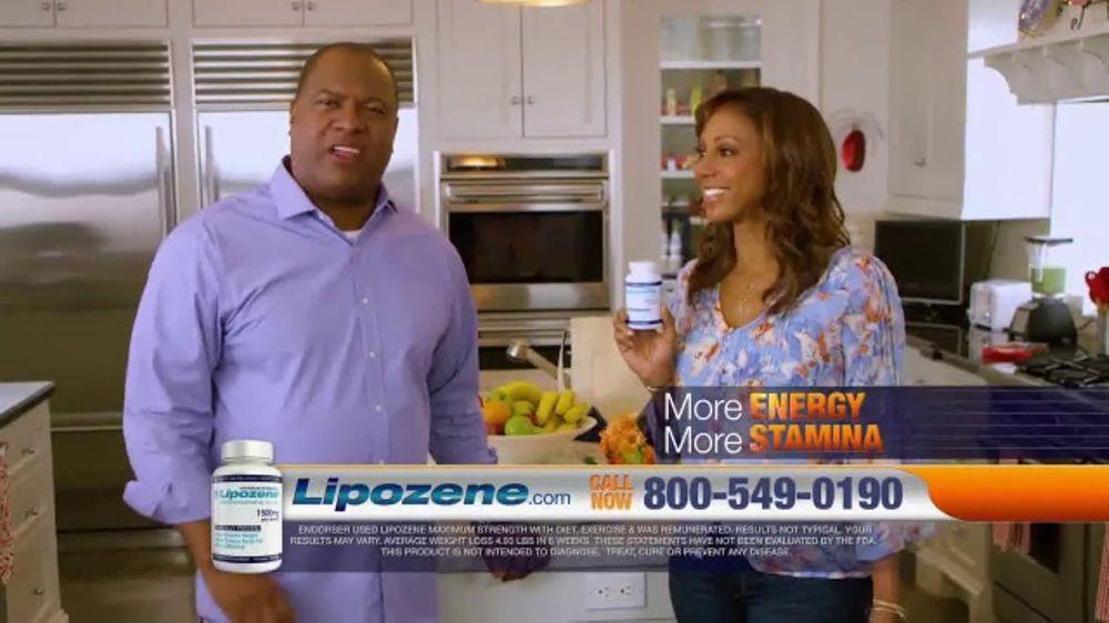 Lipozene TV Commercial, 'Favorite Foods' Feat. Holly Robinson Peete, Rodney Peete