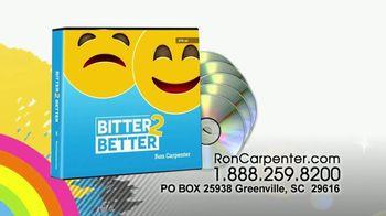 Ron Carpenter Ministries Bitter 2 Better TV Spot, 'Mistakes' - 6 commercial airings