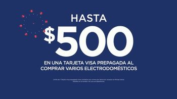 JCPenney Venta del 4 de Julio TV Spot, 'Electrodomésticos: Visa' [Spanish] - Thumbnail 4