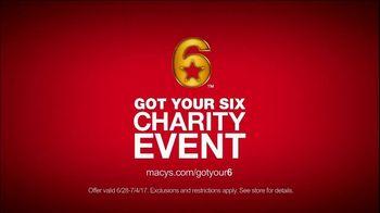 Macy's Got Your Six Charity Event TV Spot, 'Support' Feat. Ryan Seacrest - Thumbnail 6