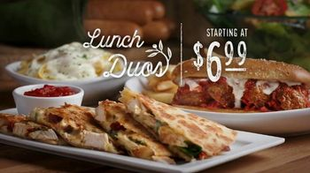 Olive Garden Lunch Duos TV Spot, 'Never Ending Value for Lunch' - Thumbnail 7