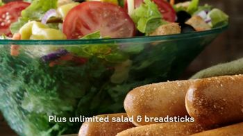 Olive Garden Lunch Duos TV Spot, 'Never Ending Value for Lunch' - Thumbnail 5
