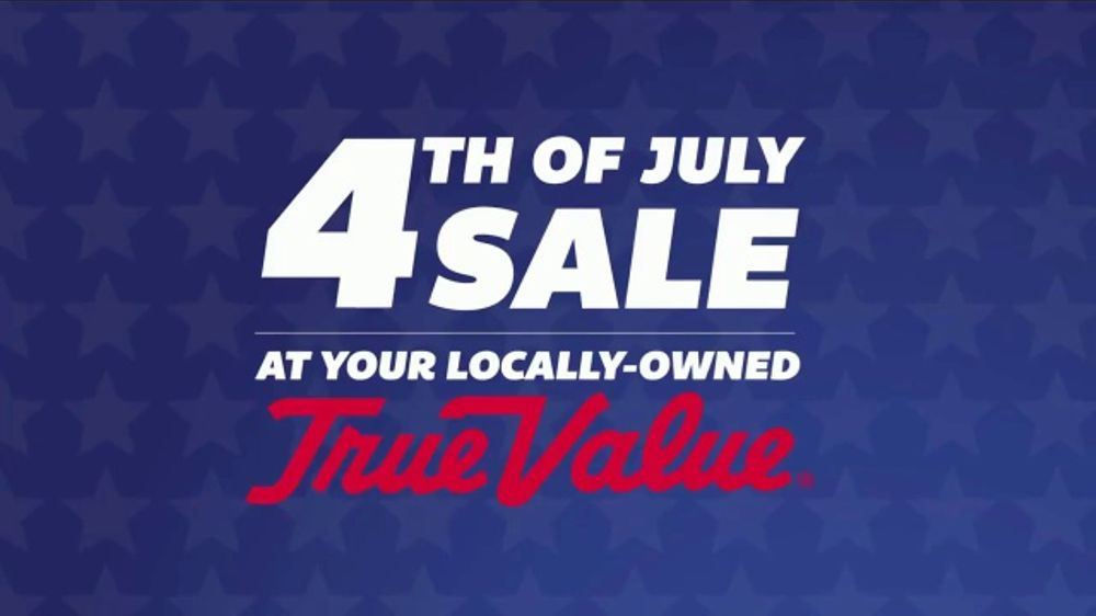 True Value Hardware 4th of July Sale TV Commercial, 'Cooler, Fan, Flag & Grill'