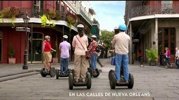 Popeyes Cheddar Biscuit Butterfly Shrimp TV Spot, 'El recorrido' [Spanish]