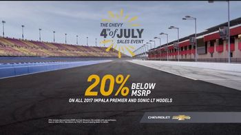 Chevrolet 4th of July Sales Event TV Spot, 'Enjoy the Ride' [T2] - Thumbnail 8