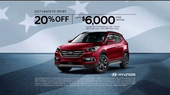 Hyundai 4th of July Sales Event TV Spot, 'Light the Savings' [T2] - Thumbnail 6