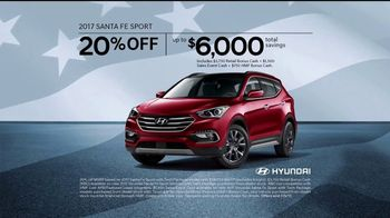 Hyundai 4th of July Sales Event TV Spot, 'Light the Savings' [T2] - Thumbnail 8