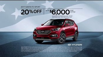 Hyundai 4th of July Sales Event TV Spot, 'Light the Savings' [T2] - Thumbnail 9