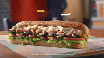 Subway Rotisserie-Style Chicken Sandwich TV Spot, 'Mix Things Up' - Thumbnail 9