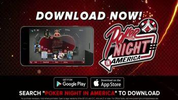 Poker Night in America App TV Spot, 'Play Against the Pros'