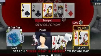 Poker Night in America App TV Spot, 'Play Against the Pros' - Thumbnail 4