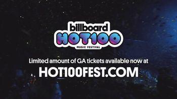 Billboard Magazine Hot 100 Music Festival TV Spot, 'Headliners' - Thumbnail 8