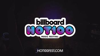 Billboard Magazine Hot 100 Music Festival TV Spot, 'Headliners'