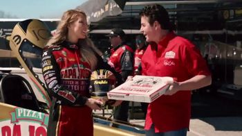Papa John's Double XL TV Spot, 'NHRA: Less Dough' Featuring Leah Pritchett - Thumbnail 1