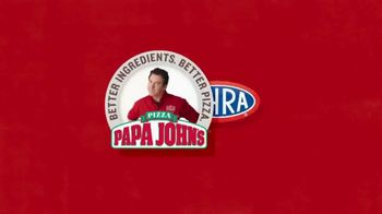 Papa John's Double XL TV Spot, 'NHRA: Less Dough' Featuring Leah Pritchett - Thumbnail 7