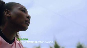 Tempur-Pedic July 4th Savings Event TV Spot, 'Adapt' Feat. Serena Williams - Thumbnail 2