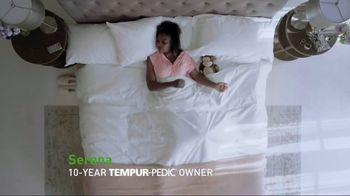 Tempur-Pedic July 4th Savings Event TV Spot, 'Adapt' Feat. Serena Williams - Thumbnail 3