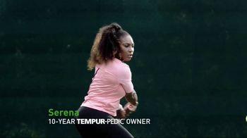 Tempur-Pedic July 4th Savings Event TV Spot, 'Adapt' Feat. Serena Williams - Thumbnail 4