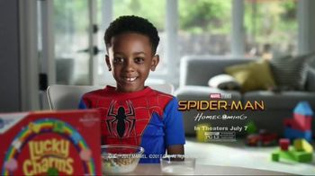 General Mills TV Spot, 'Spider-Man: Homecoming: Practice' - 1402 commercial airings