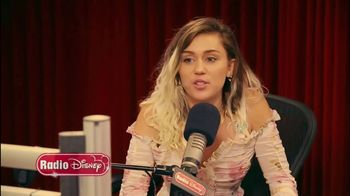 Radio Disney TV Spot, \'Miley Cyrus Talks \