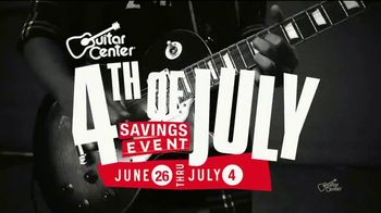 Guitar Center 4th of July Savings Event TV Spot, 'Markdowns: Pianos' - Thumbnail 2