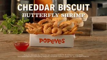 Popeyes Cheddar Biscuit Butterfly Shrimp TV Spot, 'Ride' - Thumbnail 10