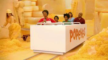 Popeyes Cheddar Biscuit Butterfly Shrimp TV Spot, 'Ride'