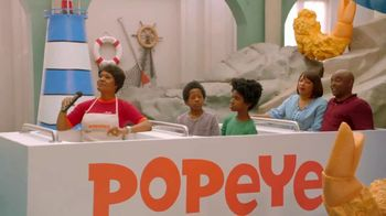 Popeyes Cheddar Biscuit Butterfly Shrimp TV Spot, 'Ride' - Thumbnail 7
