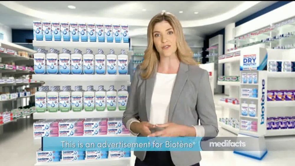 Biotene Dry Mouth Oral Rinse TV Commercial, 'Sooth, Moisturize and Freshen'