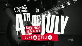 Guitar Center 4th of July Savings TV Spot, 'Massive Markdowns' - 154 commercial airings