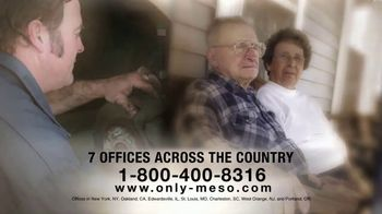 MRHFM Law Firm TV Spot, 'Only Mesothelioma'