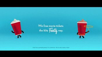 Wendy's 50-Cent Frosty Films Sweepstakes TV Spot, 'Free Movie Tickets' - Thumbnail 2