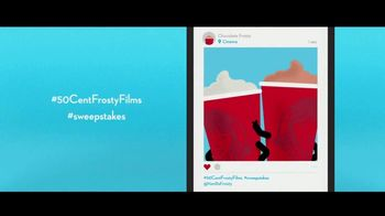 Wendy's 50-Cent Frosty Films Sweepstakes TV Spot, 'Free Movie Tickets' - Thumbnail 6