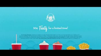 Wendy's 50-Cent Frosty Films Sweepstakes TV Spot, 'Free Movie Tickets' - Thumbnail 9