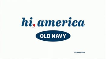 Old Navy 4th of July Sale TV Spot, 'Hi, America' Song by Fleur East