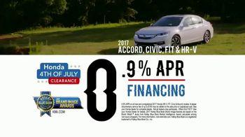 Honda 4th of July Clearance TV Spot, 'Western Washington: It's On' [T2] - Thumbnail 3