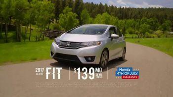 Honda 4th of July Clearance TV Spot, 'Western Washington: It's On' [T2] - Thumbnail 4