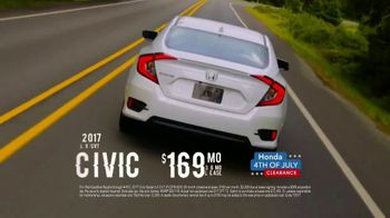 Honda 4th of July Clearance TV Spot, 'Western Washington: It's On' [T2] - Thumbnail 5