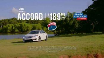 Honda 4th of July Clearance TV Spot, 'Western Washington: It's On' [T2] - Thumbnail 6