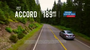 Honda 4th of July Clearance TV Spot, 'Western Washington: It's On' [T2] - Thumbnail 7