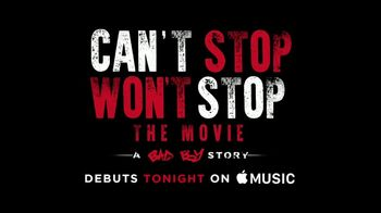 Apple Music TV Spot, 'Can't Stop, Won't Stop: A Bad Boy Story Debut' - Thumbnail 5