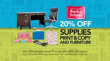 Office Depot OfficeMax TV Spot, 'Mom' Song by Bachman-Turner Overdrive - Thumbnail 5