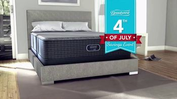 Beautyrest 4th of July Savings Event TV Spot, 'Free Box Spring'