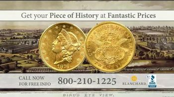 Blanchard and Company TV Spot, 'American History: Double Eagle Gold Coins' - 2 commercial airings