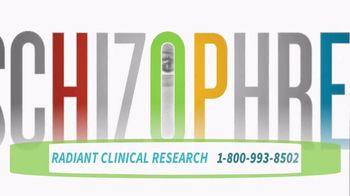 Radiant Clinical Research TV Spot, 'Schizophrenia Trials' - Thumbnail 3