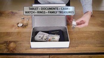 My Secret Safe TV Spot, 'Secures Valuables Discreetly' - Thumbnail 3